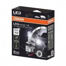 LED OSRAM H7 lemputės  Gen2 12V-24V  14W 67210CW