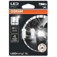 LED OSRAM lemputė w5w  12V White