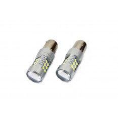 LED lemputė  CANBUS 1156 (P21W) White 12V-24V
