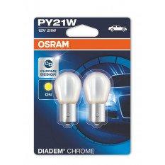 Osram lemputės DIADEM CHROME PY21W geltona 7507DC