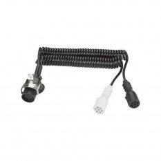 Elektrinis spiralinis kabelis 15/7 hermetiškas | E1201-A