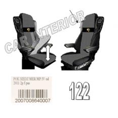 copy of Sunkvežimių sėdynių užvalkalai DAF XF 105 EURO 6 (2013→)