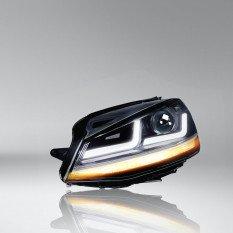 Headlight OSRAM LEDHL104-CM LHD(2 pcs.) VW Golf VII