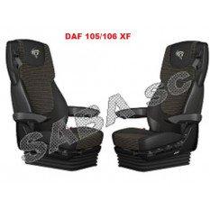 Sėdynių užvalkalai DAF 105-106 XF nuo 2013m  | Veliūras
