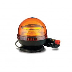 Warning lamp LED R65 R10 with magnet double flash LW0030-ALR-DOUBLE