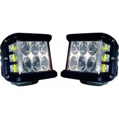 LED darbiniai žibintai CUBE  2vnt. L0061