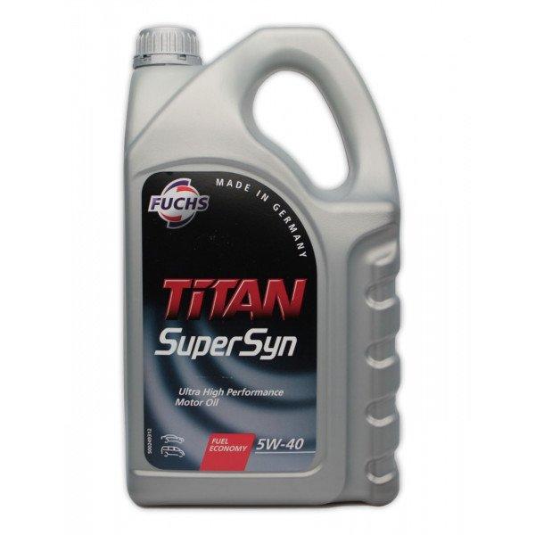 Fuchs 5W40 TITAN SUPERSYN 5L