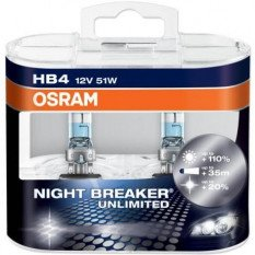 Osram lemputės NIGHT BREAKER UNLIMITED HB4