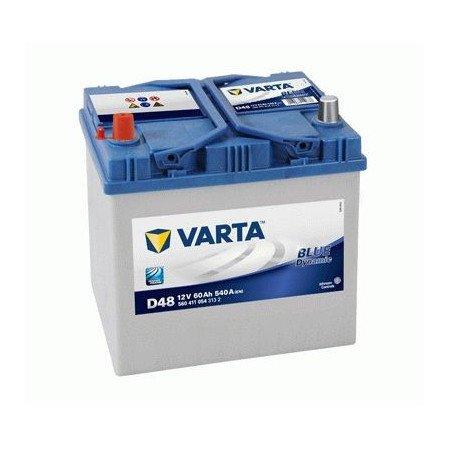 Akumuliatorius VARTA 60 Ah 540 A (D48)
