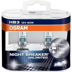 Osram lemputės NIGHT BREAKER UNLIMITED HB3
