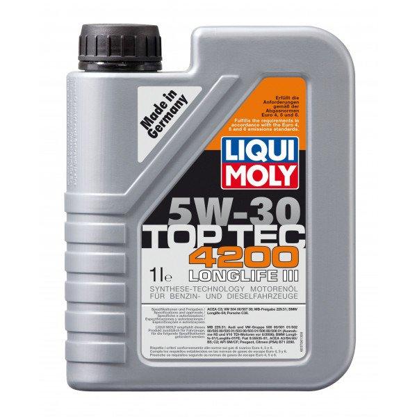 Sintetinė variklinė alyva Top Tec 4200 5W30 1L