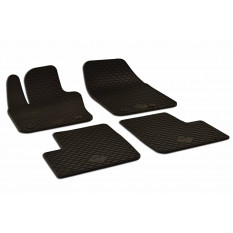 Kilimėliai FIAT 500X, 500X CROSS 2014+ 4pcs. black/ 219695