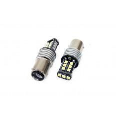 LED CANBUS 15SMD 2835 7,5W 1157 (P21/5W) White 12V/24V