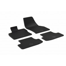 Kilimėliai VOLKSWAGEN T-ROC Cabrio 2019+ 4pcs. black/ 222285