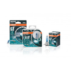 Osram lemputės COOL BLUE H1 Intense +100% NEXT gen
