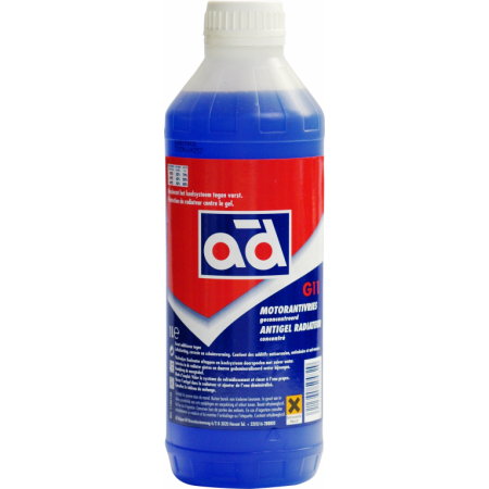 Aušinimo skystis AD G11 BLUE 1L (Koncentratas)