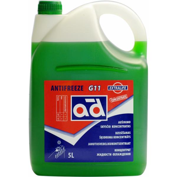 Aušinimo skystis AD G11 GREEN 5L (Koncentratas)