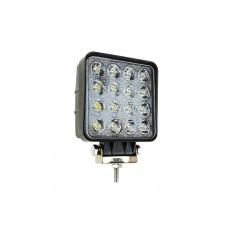 Working lamp AWL05 EMC 108x108 48W FLAT 9-60V