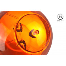 Warning lamp W02SB SINGLE BOLT  R65 R10 39LED 12/24V IP56