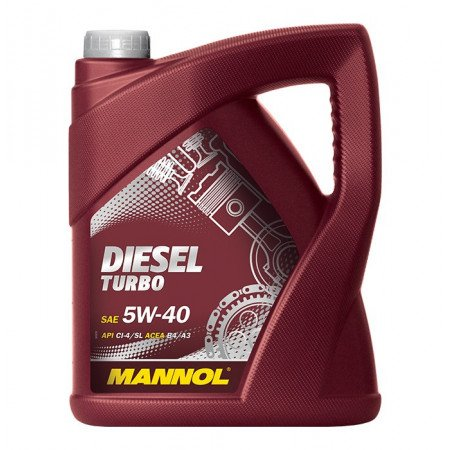 MANNOL DIESEL TURBO 5W-40 5L