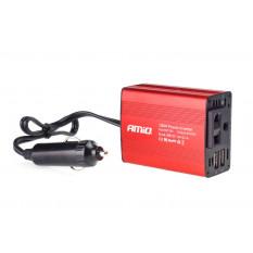 Power Inverter AMiO 12V/230V 150W/300W 2xUSB PI01