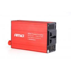 Power Inverter AMiO 12V/230V 300W/600W 2xUSB PI03