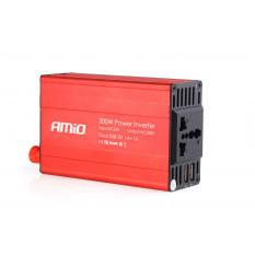 Power Inverter 24V/230V 300W/600W 2xUSB PI04