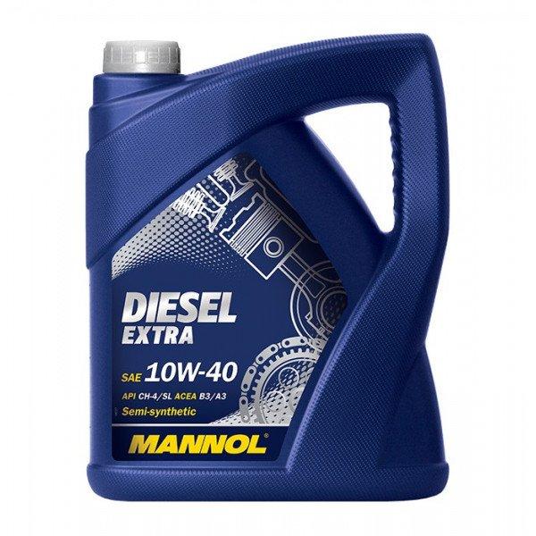 Alyva MANNOL DIESEL EXTRA 10W-40 5L