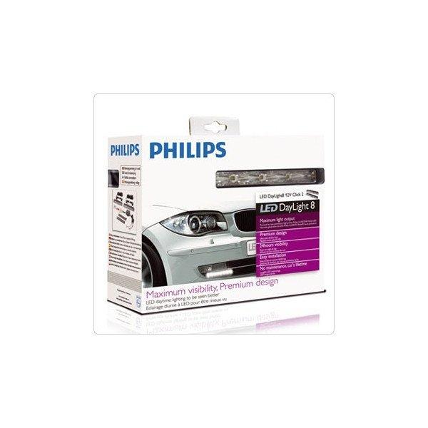 Dienos žibintai Philips 12824 DRL8 (DayLight 8)