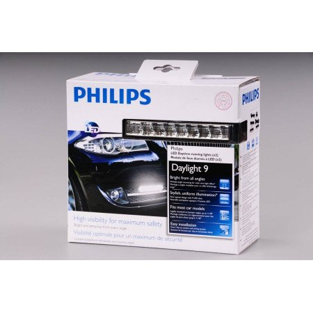 Dienos žibintai Philips 12831 Day light 9