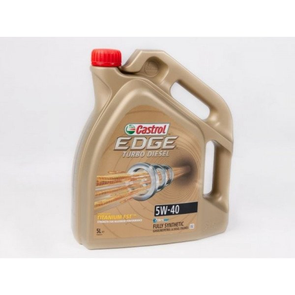 5W40 CASTROL EDGE TURBO DIESEL 5L