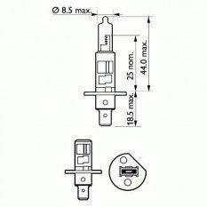 Lemputės H1   LongLife EcoVision
