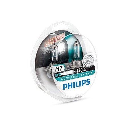 Lemputės H7 X-treme VISION +130% | Philips