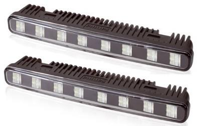 LED dienos žibintai Philips