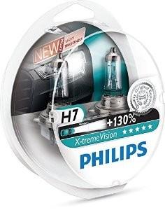 Philips lemputės x-treme H7 +130%